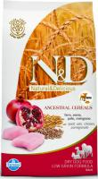 N&D dog LOW GRAIN ADULT MAXI chicken/pomegranate