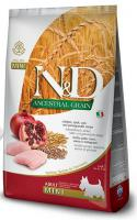 N&D dog LG ADULT MINI CHICKEN/POMEGRANATE
