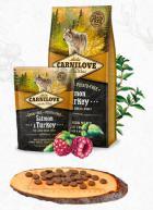 CARNILOVE ADULT large SALMON/turkey
