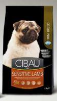 CIBAU   SENSITIVE LAMB/rice  MINI