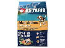 ONTARIO dog  ADULT MEDIUM fish