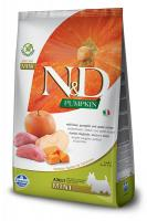 N&D dog GF PUMPKIN ADULT MINI boar/apple