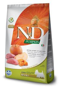 N&D dog GF PUMPKIN ADULT MINI boar/apple