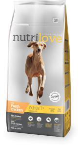 NUTRILOVE dog ACTIVE