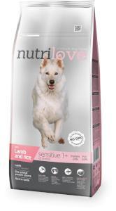 NUTRILOVE dog SENSITIVE jagnięcina