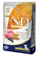N&D dog LG PUPPY MINI LAMB / BLUEBERRY