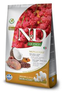 N&D dog GF QUINOA skin/coat QUAIL/COCONUT