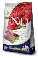 N&D dog GF QUINOA weight management LAMB/BROCCOLI