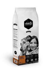 AMITY premium dog LAMB/ryż
