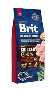 BRIT dog Premium By Nature SENIOR L+XL