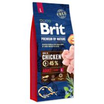 BRIT dog Premium by Nature ADULT L