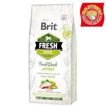 BRIT FRESH ADULT RUN and WORK duck/millet