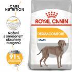Royal Canin Maxi Dermacomfort - Granulki dla dużych psów z problemami skórnymi