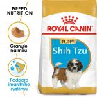 Royal Canin Shih Tzu Puppy - Granulki dla szczeniaka Shih Tzu