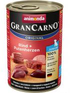Animonda dog konserwa Gran Carno Junior wołowina/serce