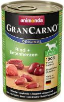 Animonda dog konserwa Gran Carno rind/entenherzen