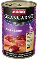 Animonda dog konserwa Gran Carno Senior wołowiny / jagnięciny