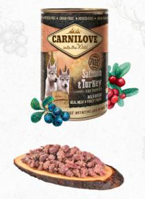 CARNILOVE  konz.  PUPPY SALMON/turkey
