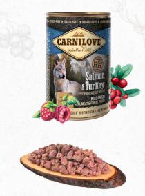 CARNILOVE   konz.  ADULT SALMON/turkey