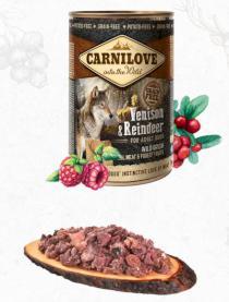 CARNILOVE  konz.  ADULT VENISON/reindeer