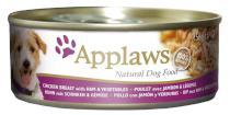 Applaws pies Konz. Kurczaka / szynka / warzywa