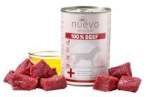 NUEVO pies Konz. Sensitive wołowina