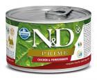 N&D dog PRIME konz. ADULT MINI chicken/pomegranate