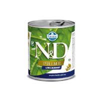 N&D dog PRIME konz. ADULT lamb/blueberry