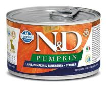 N&D dog GF PUMPKIN konz. STARTER MINI lamb/blueberry