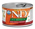 N&D dog GF PUMPKIN konz. PUPPY MINI chicken/pomegranate