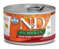 N&D dog GF PUMPKIN konz. ADULT MINI chicken/pomegranate