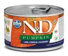 N&D dog GF PUMPKIN konz. ADULT MINI lamb/blueberry