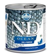N&D dog OCEAN konz. PUPPY codfish/pumpkin