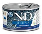 N&D dog OCEAN konz. ADULT MINI trout/salmon