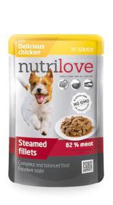 NUTRILOVE pes  ADULT  kaps.