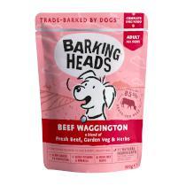 Barking Heads saszetka BEEF waggington