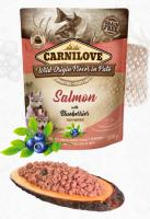 CARNILOVE dog pouch PUPPY salmon/blueberries