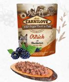 CARNILOVE dog  pouch PATÉ OSTRICH/blackberries