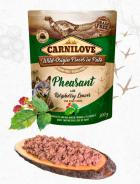 CARNILOVE dog pouch  PATÉ PHEASANT/raspberry leaves