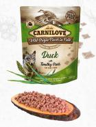 CARNILOVE dog pouch  PATÉ DUCK/timothy grass