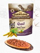 CARNILOVE dog pouch  PATÉ QUAIL/yellow carrot