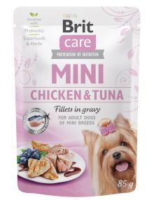 BRIT CARE dog MINI pouch  ADULT chicken/tuna