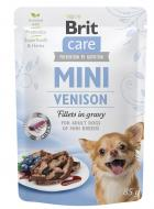 BRIT CARE dog  MINI pouch ADULT  venison