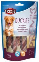 Przysmak dla psa DUCKIES jasne kości panierowane w mięsie (trixie)