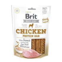 BRIT meaty jerky  CHICKEN protein bar