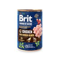 BRIT dog Premium by Nature CHICKEN with HEARTS