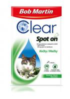 antipar. spot-on BOB MARTIN clear   CAT