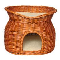 Domek z legowiskiem z wikliny (trixie)