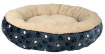 Poduszka (owalna) plusz TAMMY niebiesko-beżowa