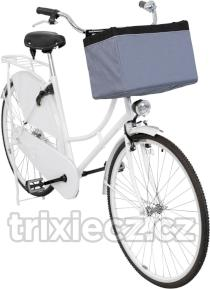 Transport kosz FRONT-BOX  na bike - szary